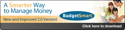 BudgetSmart.  A smarter way to manage money.  New and improved 2.0 version.  Click here to download.